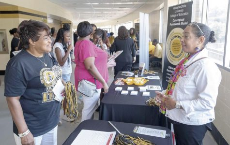 University connects with high school students