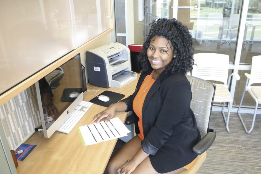 Nefsa'Hyatt Brown, a native of Mobile, Ala. and a senior political science major served as the editor-in-chief of The Hornet Tribune for two years.  After graduation next week, she plans to pursue a graduate degree in public policy and a law degree in her quest to become a United States diplomat.