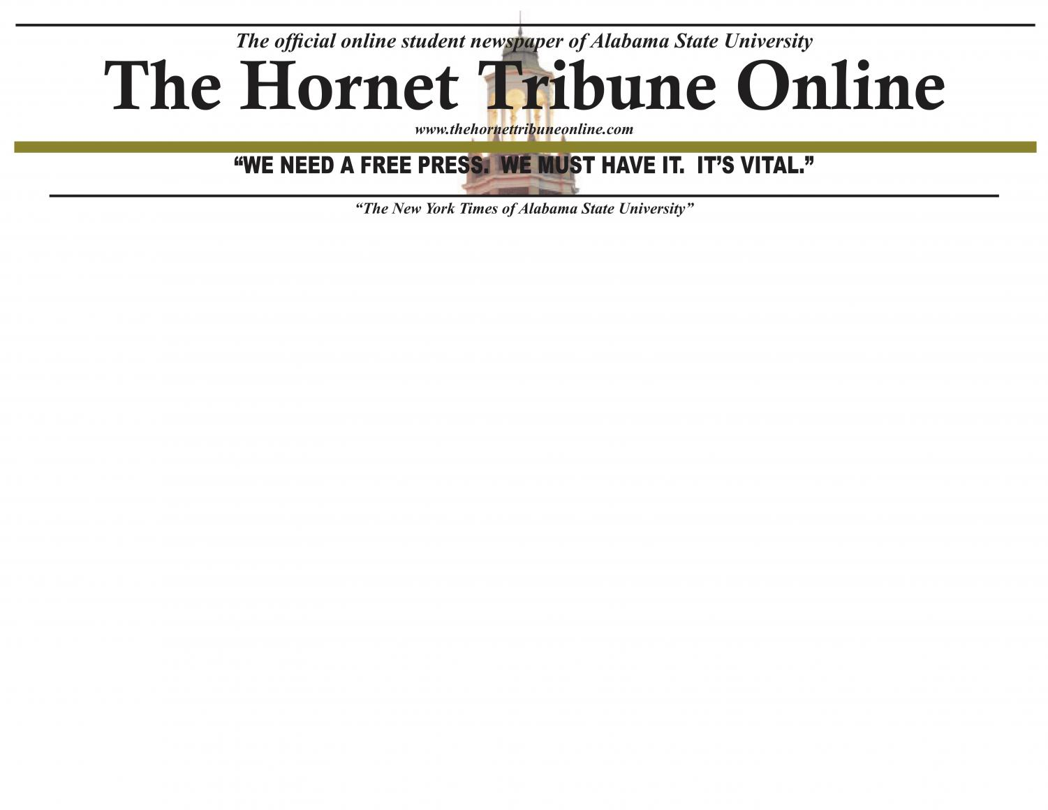 The Student News Site of Alabama State University