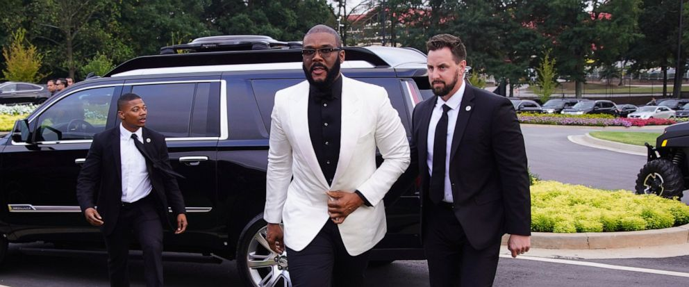 Tyler Perry christens new studio with help of Oprah Winfrey, others