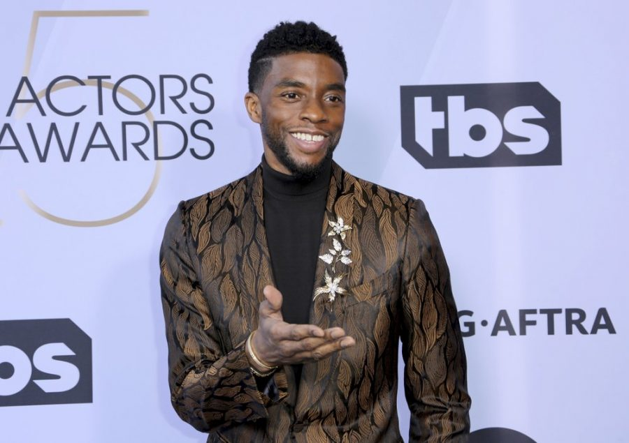 FILE+-+In+this+Jan.+27%2C+2019+file+photo%2C+Chadwick+Boseman+arrives+at+the+25th+annual+Screen+Actors+Guild+Awards+at+the+Shrine+Auditorium+%26+Expo+Hall+in+Los+Angeles.+Boseman%2C+who+played+Black+icons+Jackie+Robinson+and+James+Brown+before+finding+fame+as+the+regal+Black+Panther+in+the+Marvel+cinematic+universe%2C+has+died+of+cancer.+His+representative+says+Boseman+died+Friday%2C+Aug.+28%2C+2020+in+Los+Angeles+after+a+four-year+battle+with+colon+cancer.+He+was+43.+%28Photo+by+Willy+Sanjuan%2FInvision%2FAP%2C+File%29