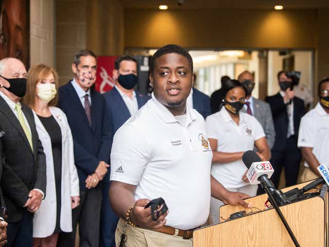 Accept and adapt: How sports prepared SGA president to lead in 2020