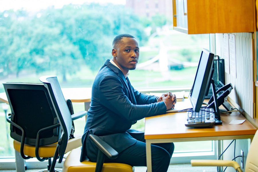 Two-time SGA Senator Trentqual Rhone is now serving as the Attorney General of the SGA in the