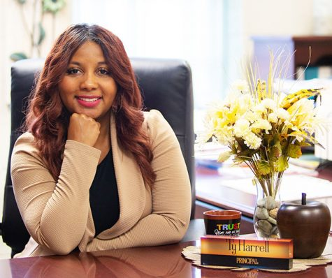 Ty Harrell completes her first year as pinciapl of Wynton Blount Elementary School.  She graduated from Alabama State University in 2008 in the field of education and move progressively through the city school system serving as a teacher, literary coach, instructional leader and an assistant principal.  She is a native of Mobile, Ala. and a graduate of John L. LeFlore High School.
