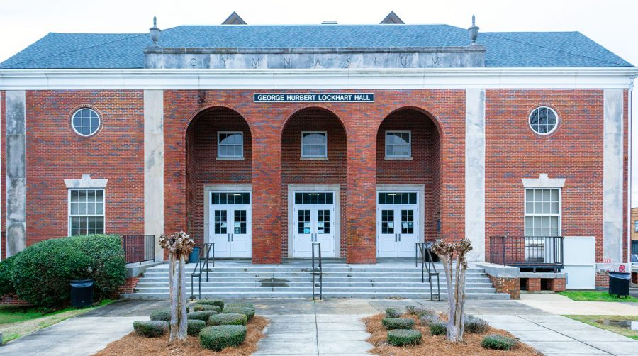 George Hurbert Lockhart Hall, constructed in 1939, experienced extensive renovations that were completed in January 2002. It is now a 47,553-square-foot brick complex where physical education activities and intramural sports are held.
