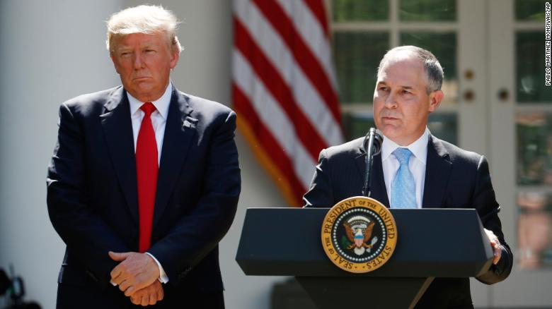 President+Donald+Trump+listens+as+EPA+Administrator+Scott+Pruitt+speaks+about+the+U.S.+role+in+the+Paris+climate+change+accord%2C+Thursday%2C+June+1%2C+2017%2C+in+the+Rose+Garden+of+the+White+House+in+Washington.+%28AP+Photo%2FPablo+Martinez+Monsivais%29