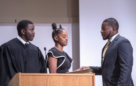 Whitlow installed as the student body's 66th president