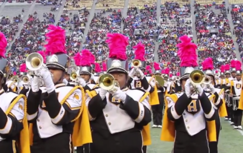 Marching Hornets to perform at NFL's Falcons vs. Rams Halftime Game Show!
