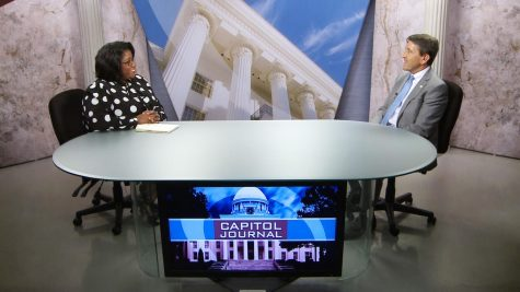 "Karen Goldsmith appears regularly on the news show ""Capitol Journal"" that airs on the Public Broadcast network.  She analyzes the news of the week and adds commentary for viewer understanding."