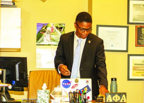 Chief Justice Joshua D. Wilkinson said that there were no official SGA cases during the fall semester due to COVID-19 regulations.