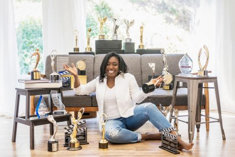Toni enjoys the awards received during her years of running her own public relations firm, Purry Communications, in Los Angeles, Calif.