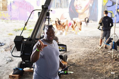 Vanda Lee, a 2010 graduate of Alabama State University produces the video for City Girls in Los Angeles, Calif.  Vanda dreamed of becoming a producer after he arrived at ASU and started his journey in the Department of Theater.