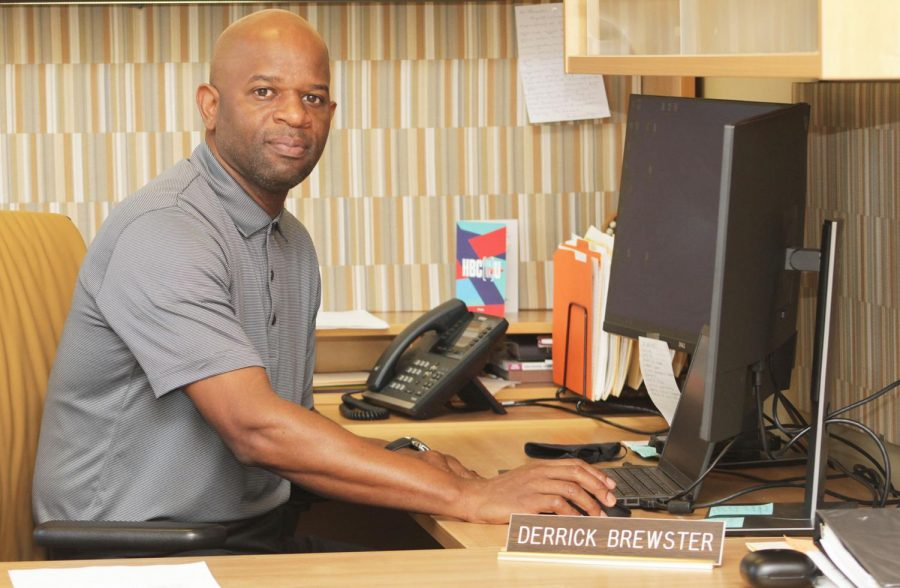 Alumnus Derrick Brewster will lead Student Affairs and Enrollment Management as the new vice president.  He encourages students to wear their masks properly and to get vaccinated as a protection against COVID-19 and its Delta variant.