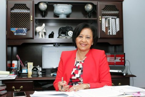 Alabama State University alumna Catherine Wilson Wright, a native of Maplesville, Alabama, is currently the chief executive officer of Professional Development Services, LLC. Wright enjoyed a 32-year  career with the federal government, a 10-year tenure with Trenholm State Community College and served as the chairwoman of the Alabama State University Board of Trustees