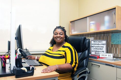 Office of Career Services director, Sabrina Crowder is hoping to host one of the best Fall Career Fairs this fall.