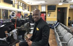 Since its inception, Heritage Barber Shop, owned and operated by Vladimir Averett, reflects Black empowerment by design. Averett and his partner Carlos Vaughn began to hire young Black men in the community to work in the shop and do for themselves.
